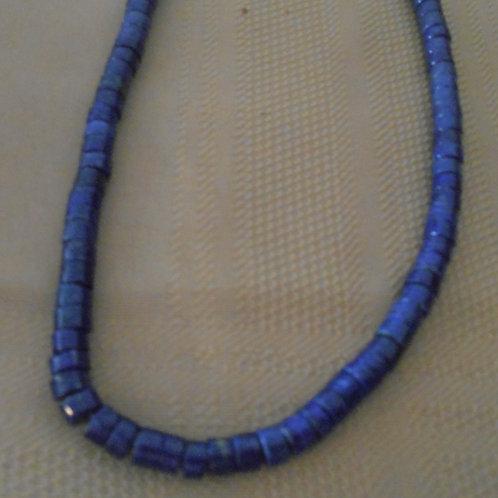 Lapis Bead Strand - Heishi beads