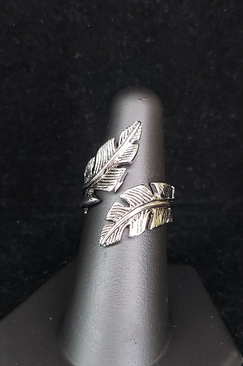 Feather bypass ring