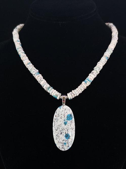 K2 jasper necklace