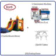 Bounce House with Slide package