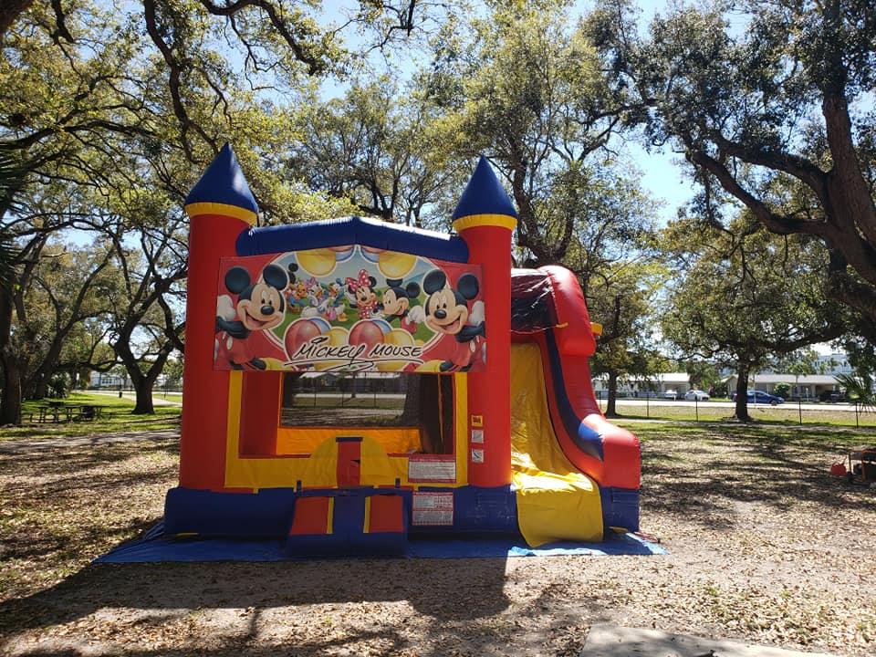 Mickey Combo Bounce House