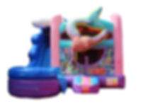 Mermaid Combo Bounce House for Rent