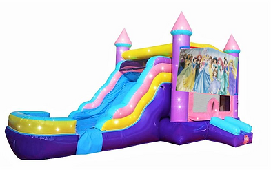 princess combo bounce house for rent