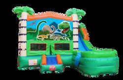 Dinosaur Combo Bounce House