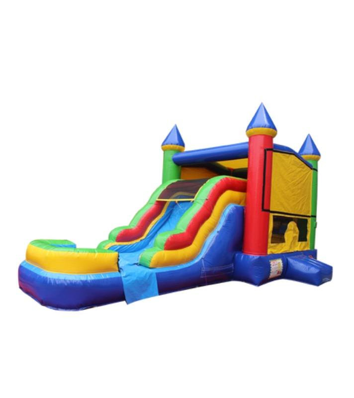 Medieval Castle Combo Bounce House