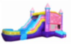 Bounce house water slide for rent