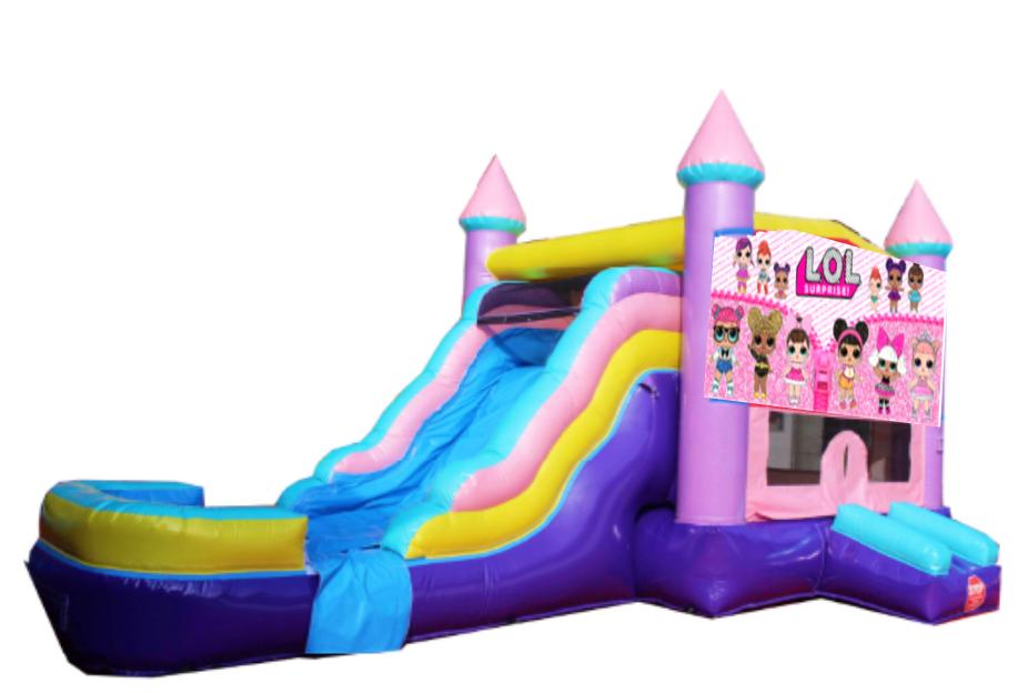 L.O.L Castle Combo Bounce House