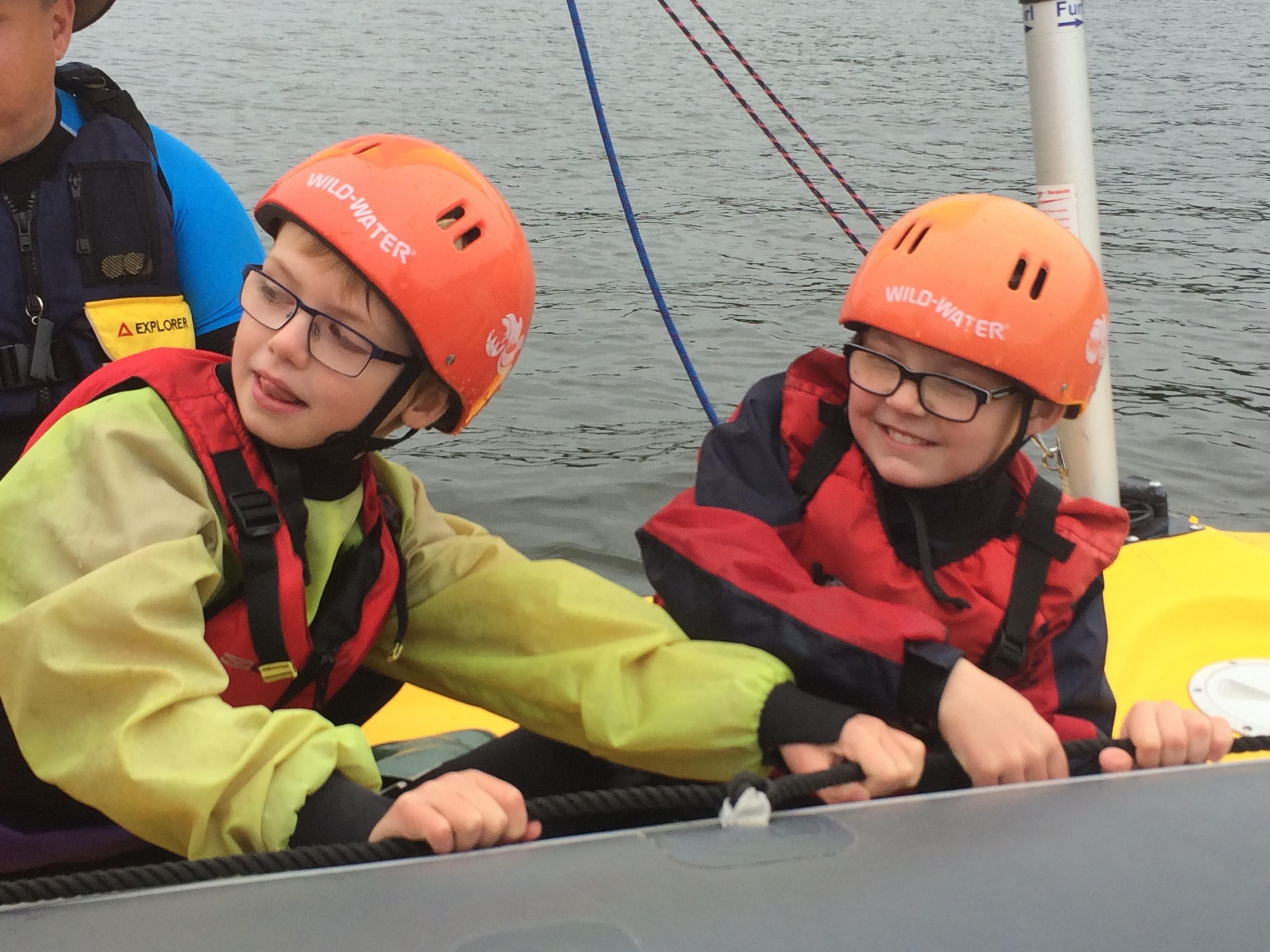 Beavers' Sailing Badge