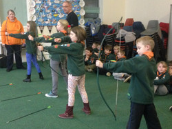 Cubs' Archery Session