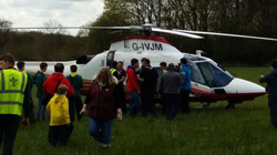 Cubs at Middlewood Birthday Event
