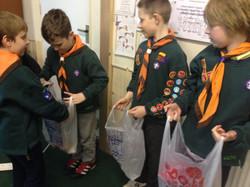 Cubs' Foodbank Donations