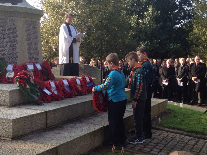 Remembrance Parade 2014