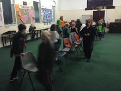 Spooky Musical Chairs