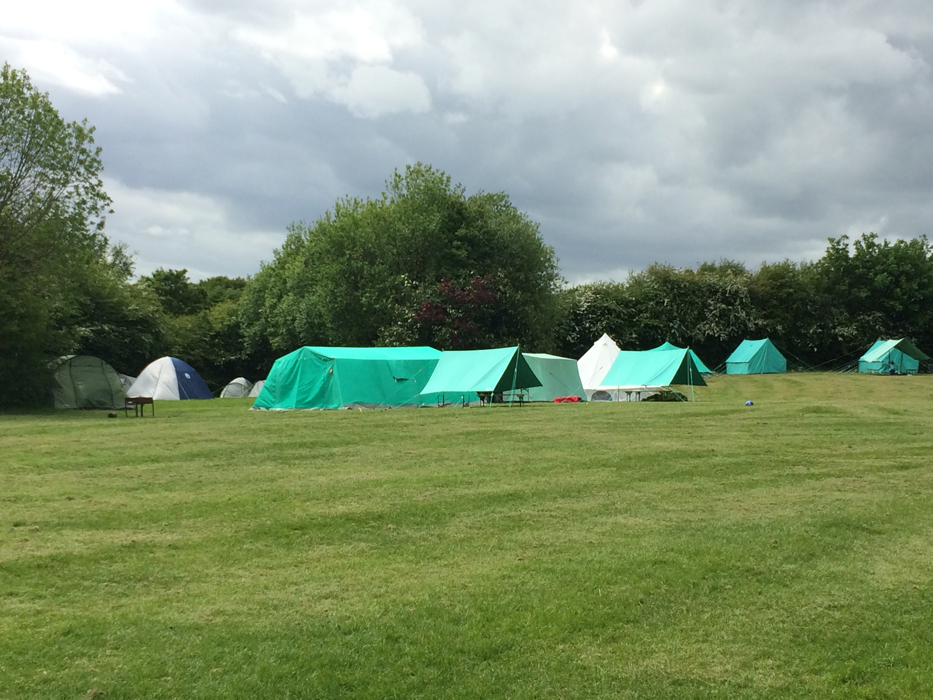 Just a few of our tents.JPG