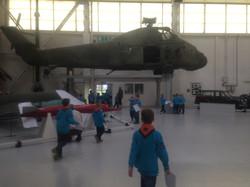 Beavers visit RAF Cosford