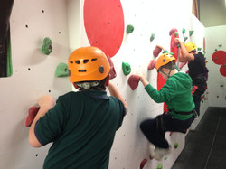 Cubs at Manchester Climbing Centre