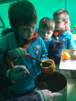 Making orange cakes 2.JPG