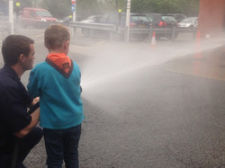 It was GREAT FUN using the hose!