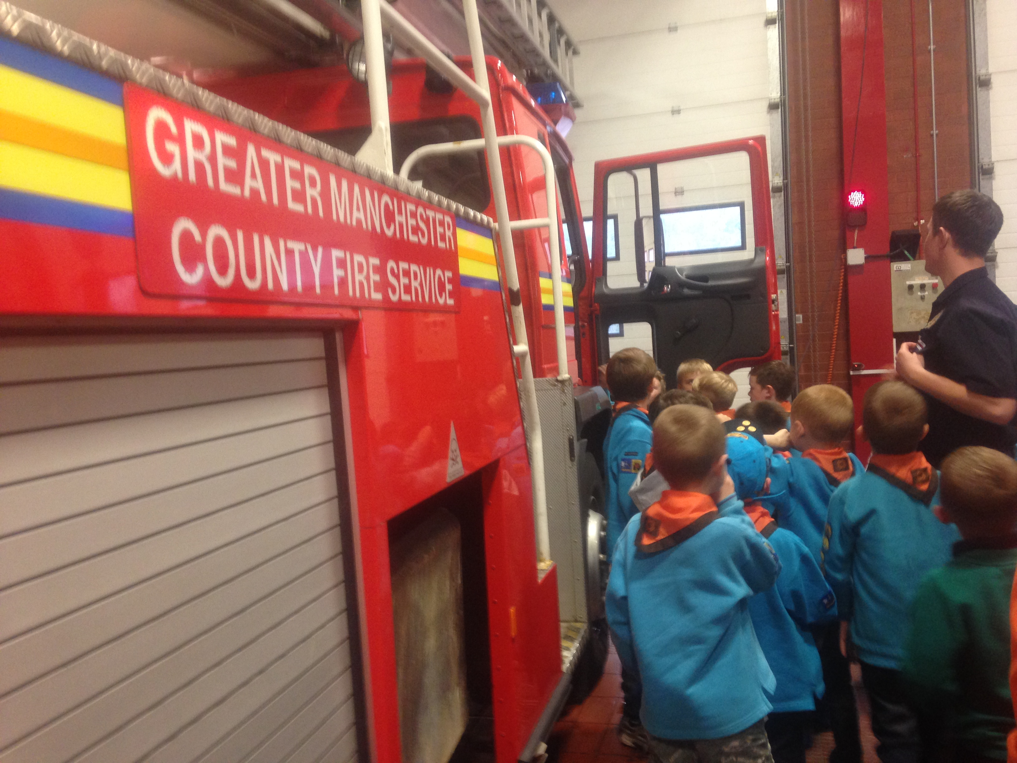Beavers' Fire Station Visit