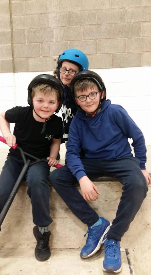 Cubs Skate Park Visit