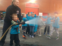 Beavers visit Leigh Fire Station