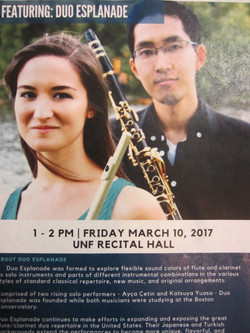 Concert @University of North Florida