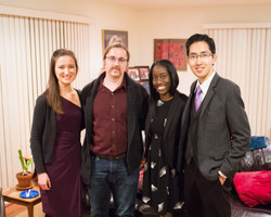 with Kevin Wilson, composer and Krystal Thomas, piano