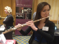 Trying out some flutes and drooling