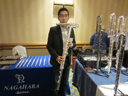 Here's to bass flute! Or flarinet!