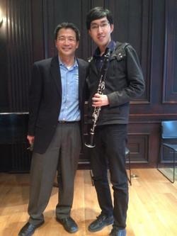 with Burt Hara, clarinet
