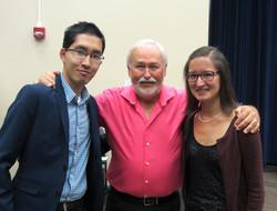 with Jim Walker, flute