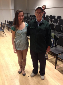 with John Heiss, composer