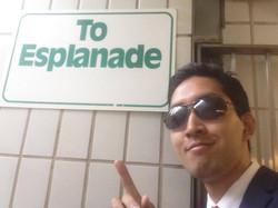 To Esplanade!