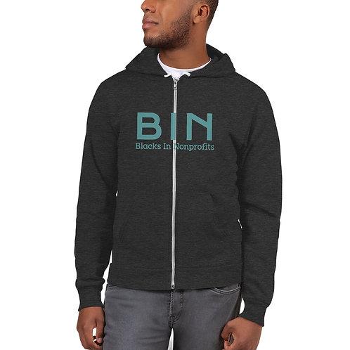 BIN Unisex Hoodie sweater (multiple colors)