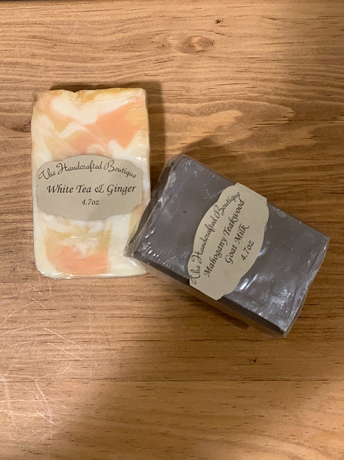 Natural Soap (4.7 oz bars)