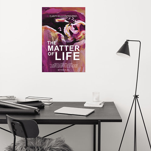 """""""The Matter of Life"""" Poster"""