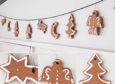 Duftende Weihnachtsgirlande