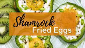 Matcha Tahini Latte & Shamrock Fried Eggs