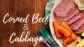 Corned Beef & Cabbage Dinner