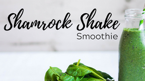 Shamrock Mint Shake & Orange Cabbage Wedges