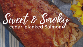 Sweet-and-Smoky Cedar-Planked Salmon