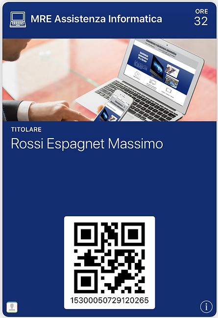 SmartAssCard per pacchetti di ore Assistenza Tecnica