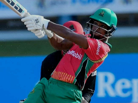 The Nicholas Pooran show!!   Smashed the first century in CPL 2020!!