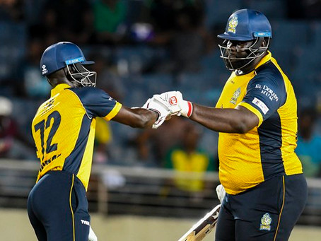 No one can stand in front of the power pack bowling attack of St Lucia Zouks!!!