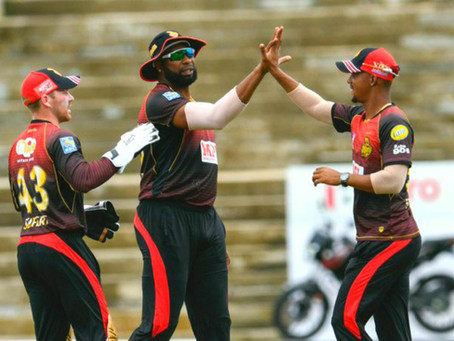 No one is able to beat the trinbago knight Riders!!