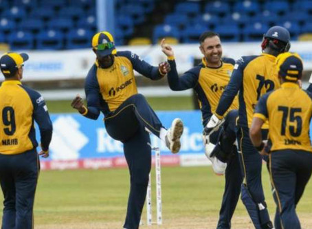 A maiden T20 five-wicket haul from Mohammad Nabi led the St Lucia Zouks to win.