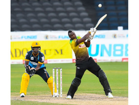 Now the real Barbados Tridents appears!!