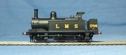 LMS 1F 0-6-0T No.1708