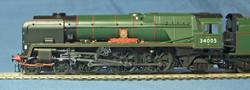 BR(SR) No.34005 BARNSTAPLE