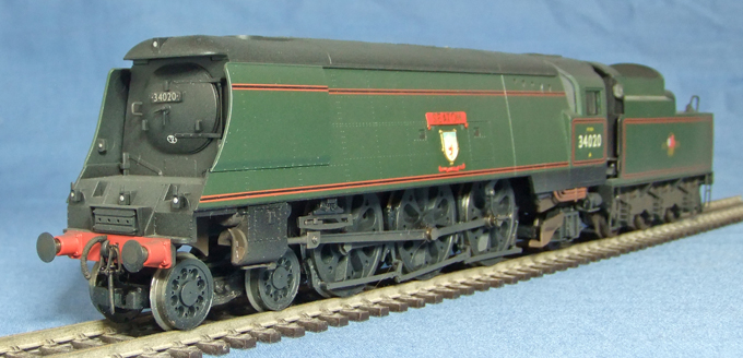 West Country No.34020 SEATON